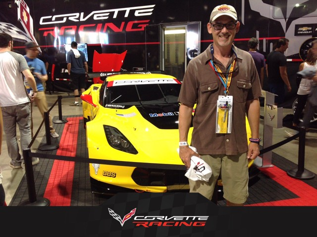 Me with Corvette at TGPLB 2015